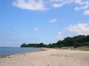 Strand in Lindhöft