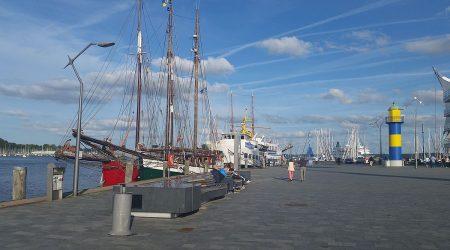 Eckernförde am Hafen