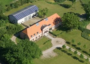 Luftbild vom Eichenhof